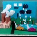 سؤال في عمل مجسمات عن البيئة