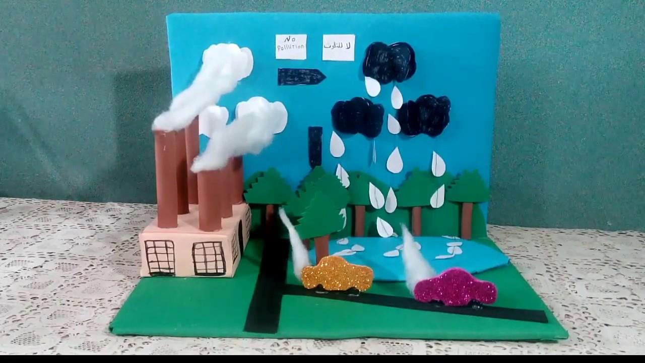 صورة سؤال في عمل مجسمات عن البيئة 1012