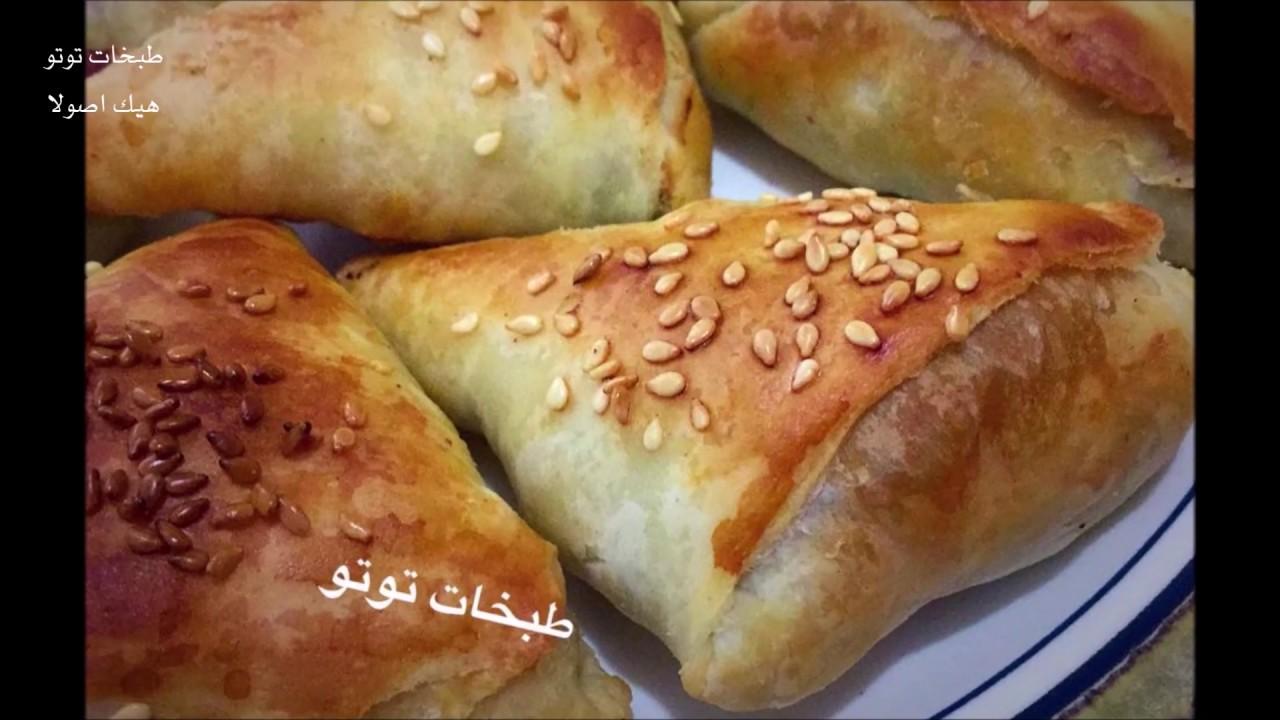 البوريك الليبي من مطبخ زهوره مورق بطبقات هشه حلو لرمضان