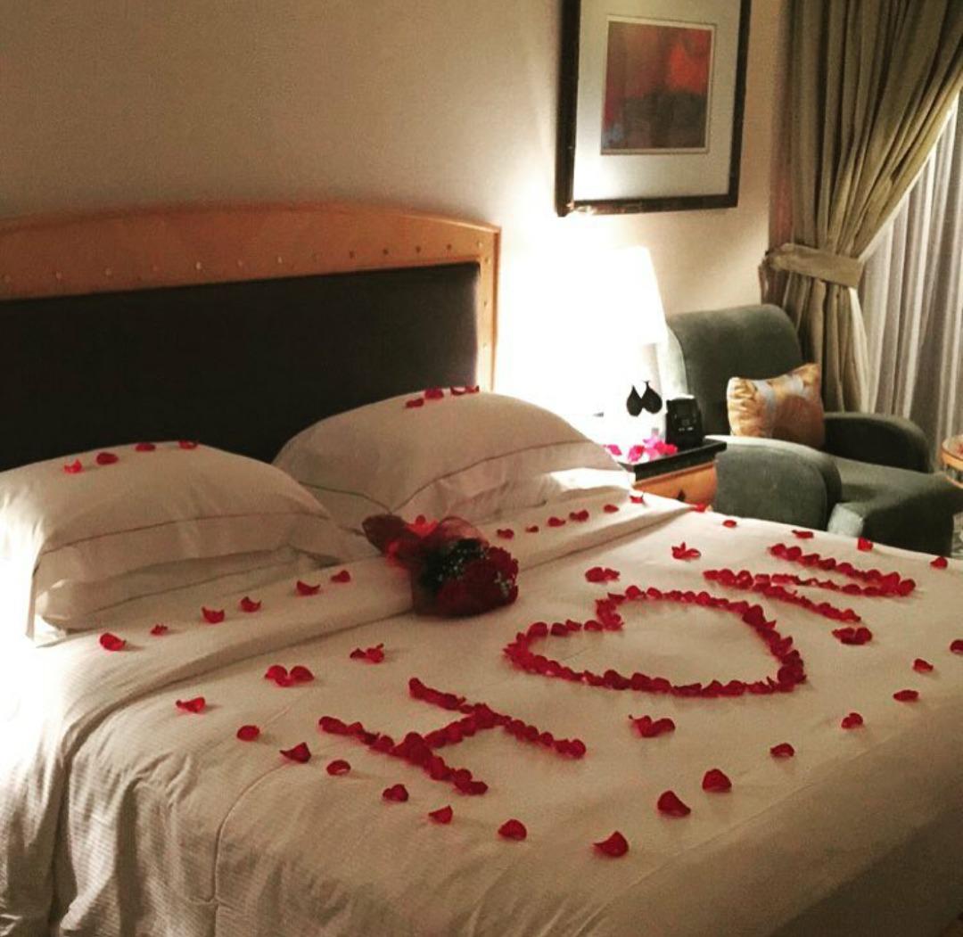 صورة ترتيب السرير بطريقة مبتكرة و رومانسية 1064 2