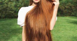 زيت جوز الهند والثوم شعر طوييل وكثير
