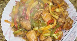 وصفة مختارة عندي لكم طريقة دجاج صيني بس شي ام