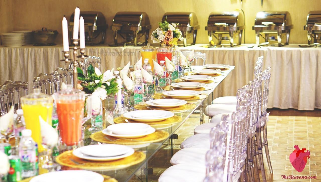 صورة طاولات استقبال المعازيم لزواج اولاد اختي 1216 1