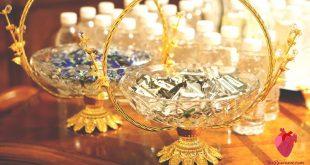 طاولات استقبال المعازيم لزواج اولاد اختي