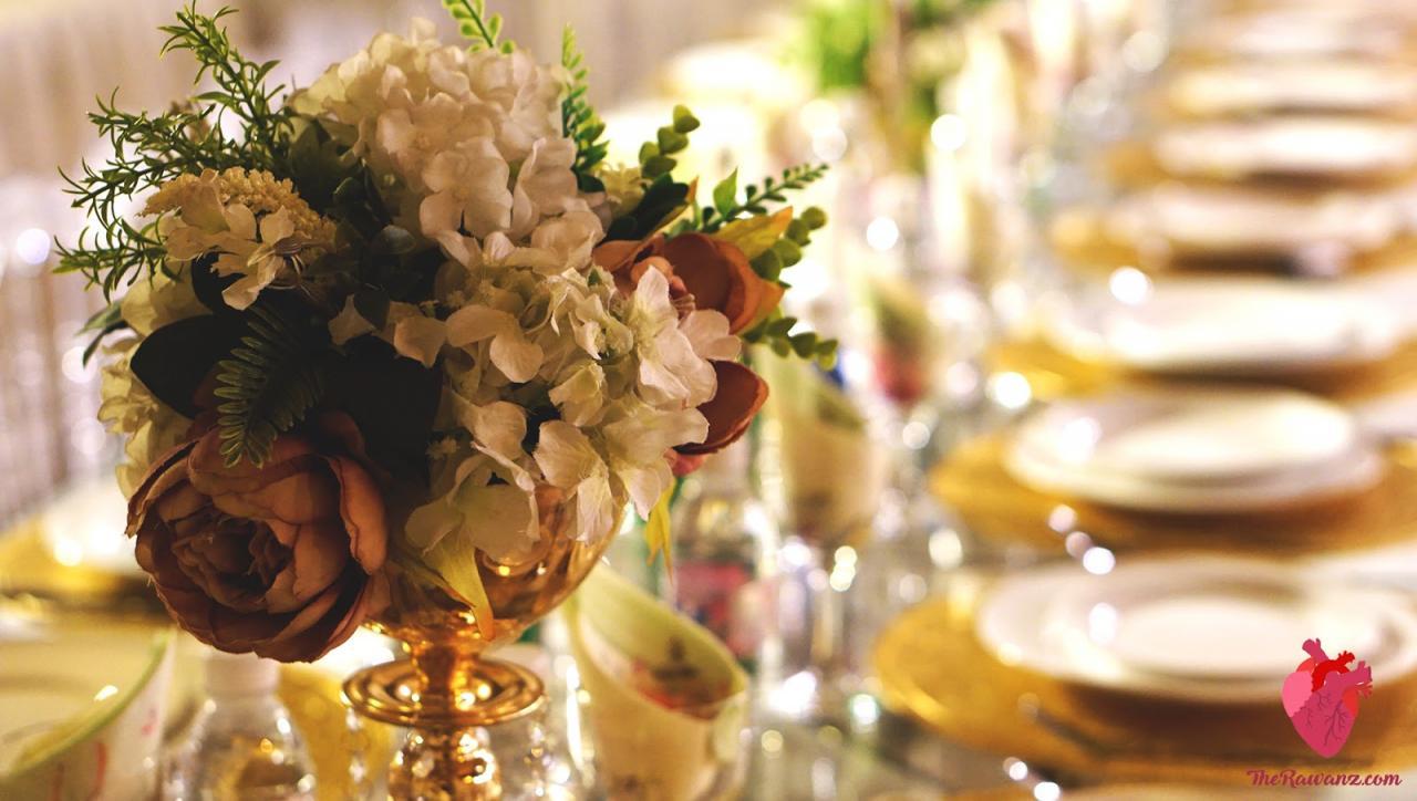 صورة طاولات استقبال المعازيم لزواج اولاد اختي 1216 4