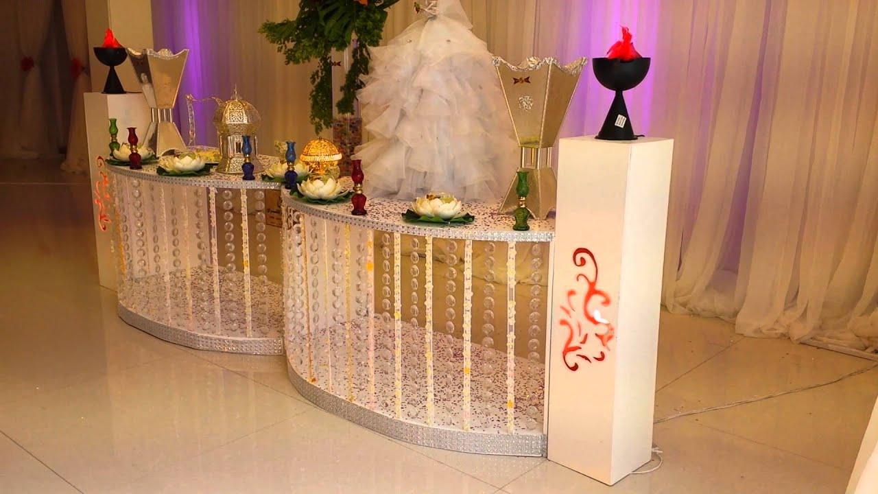 صورة طاولات استقبال المعازيم لزواج اولاد اختي 1216 9