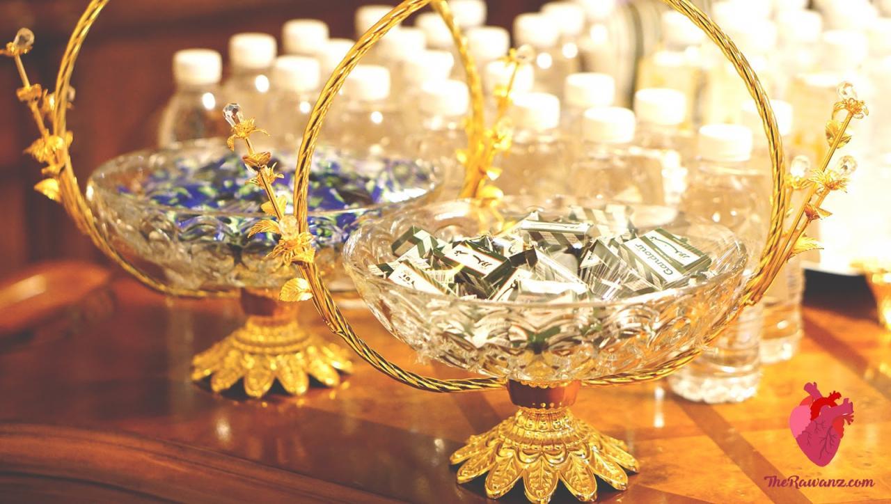 صورة طاولات استقبال المعازيم لزواج اولاد اختي 1216