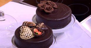 تجميل و تقديم الطعام 6 تجميل بالشوكولاتة