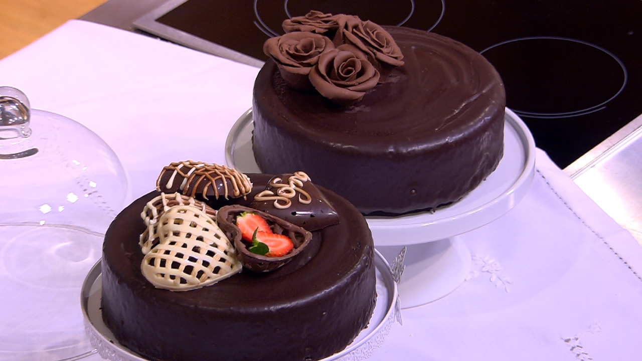 صورة تجميل و تقديم الطعام 6 تجميل بالشوكولاتة 1237