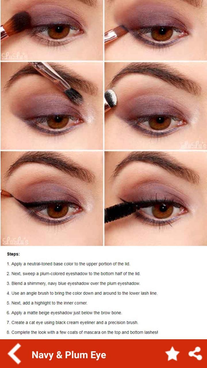 صورة درس بسيط لمكياج العين من موقع اوبر 1272