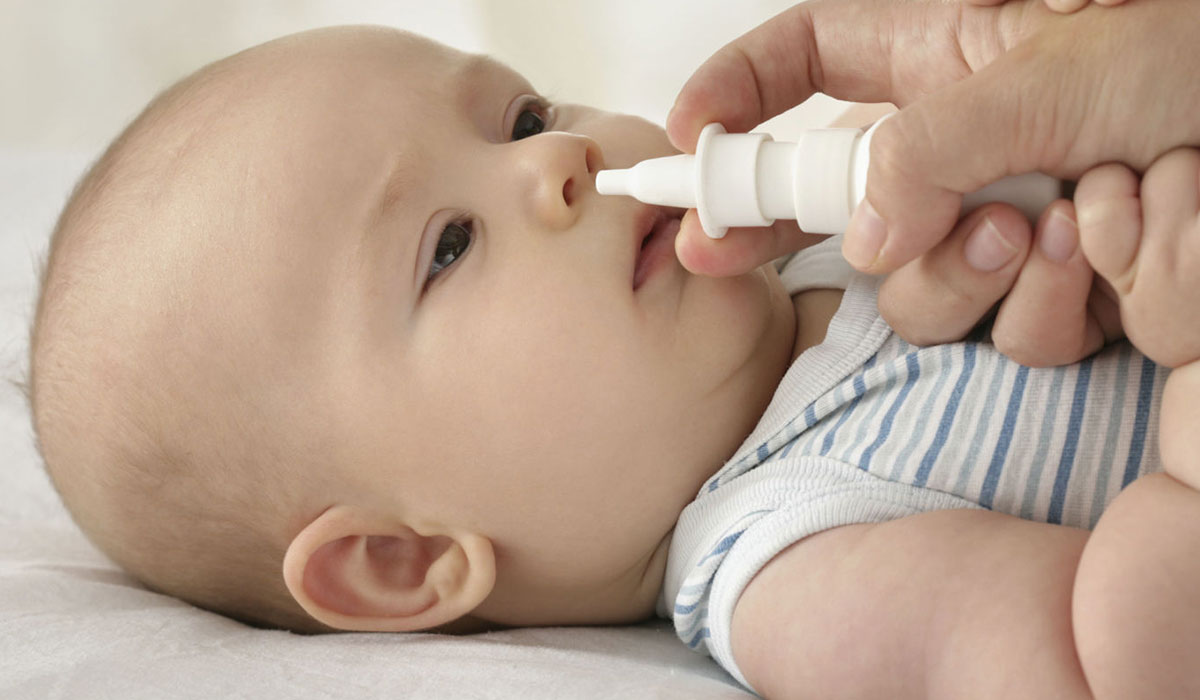 ابي علاج للزكام للطفل الرضيع