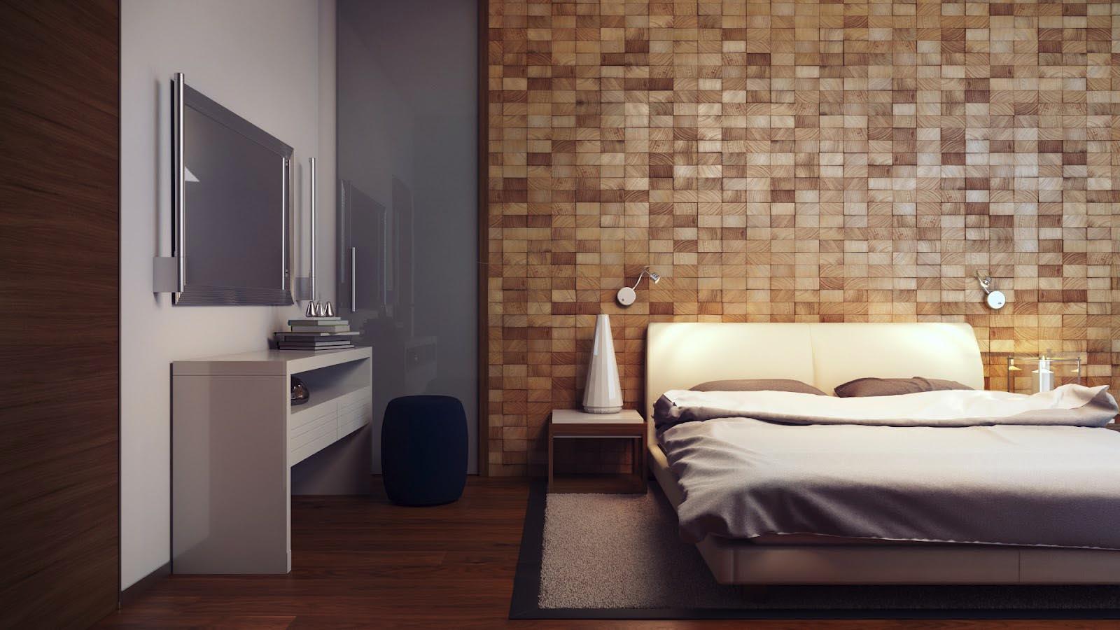 غرف نوم و افكار لجدار و خلفيه السرير حلوة بالصور