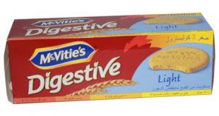 سؤال بسيط عن بسكويت دايجستف لايت Digestive