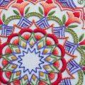 تطريز هندي خطوة خطوة ويا هلا بقلم وردة الصحراء