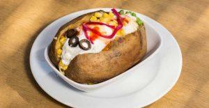 البطاطا المشوية بطاطا لندن بالصور