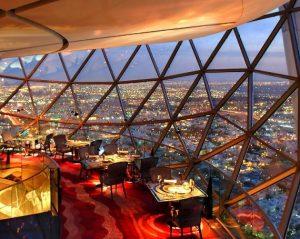 برج الفيصلية ومطعم البلورة صور