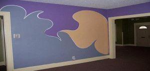 واخيرا صبغت الحائط وابي رايكم