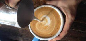 خلط الكريم القهوه التركيه بالصور